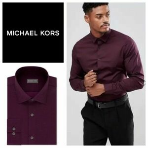 Michael Kors Airsoft Stretch Non iron perf…